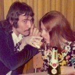Future hubby and me, Jan. 27, 1973