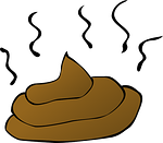 dog poop cartoon