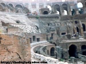 Colosseum, inside