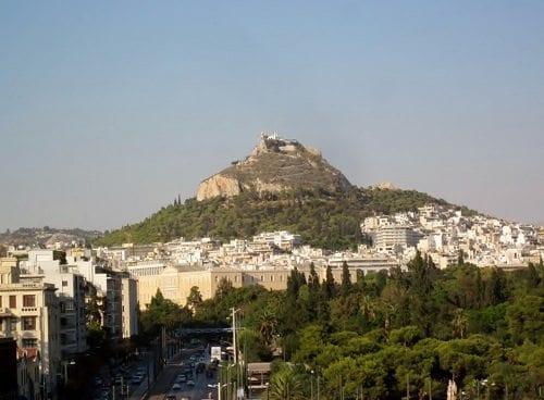 lykavitos hill, athens