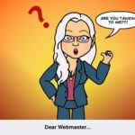 """DEAR WEBMASTER""…ADVENTURES IN BLOGGING"