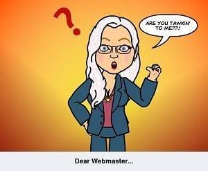 Dear Webmaster 300px