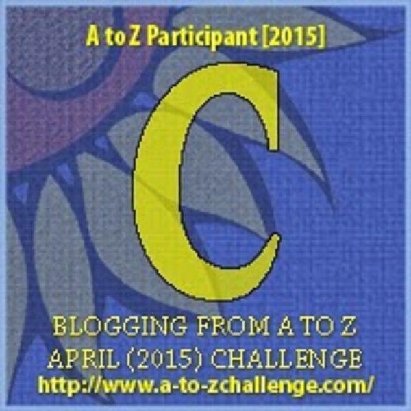 #AtoZChallenge: C is for