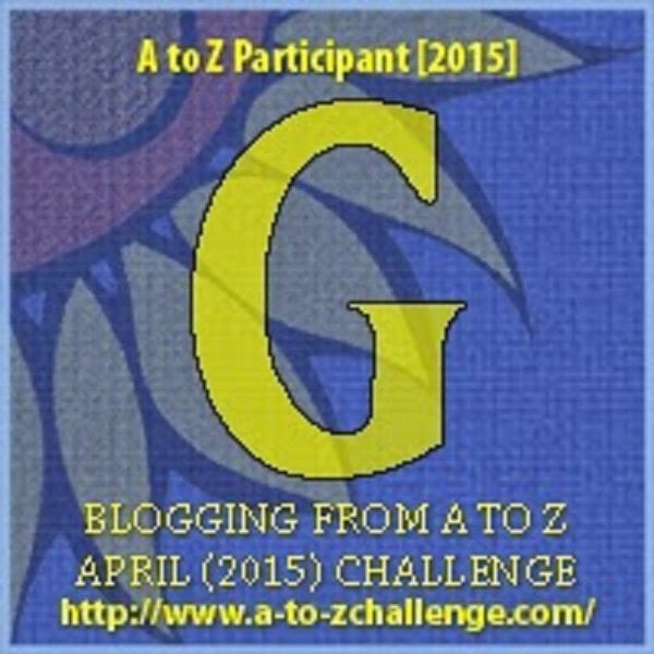 #AtoZChallenge: G is for GARRULOUS, THE DOGLADY'S DEN