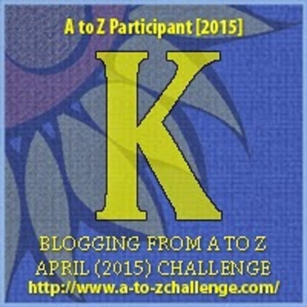 #AtoZChallenge: K is for KNICK-KNACK