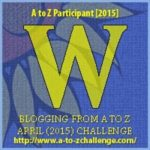 #AtoZChallenge: W is for WANDERLUST