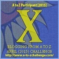 #AtoZChallenge - Day 24 - X