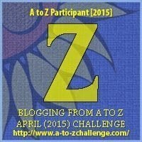 #AtoZChallenge 2015 - Z- is for