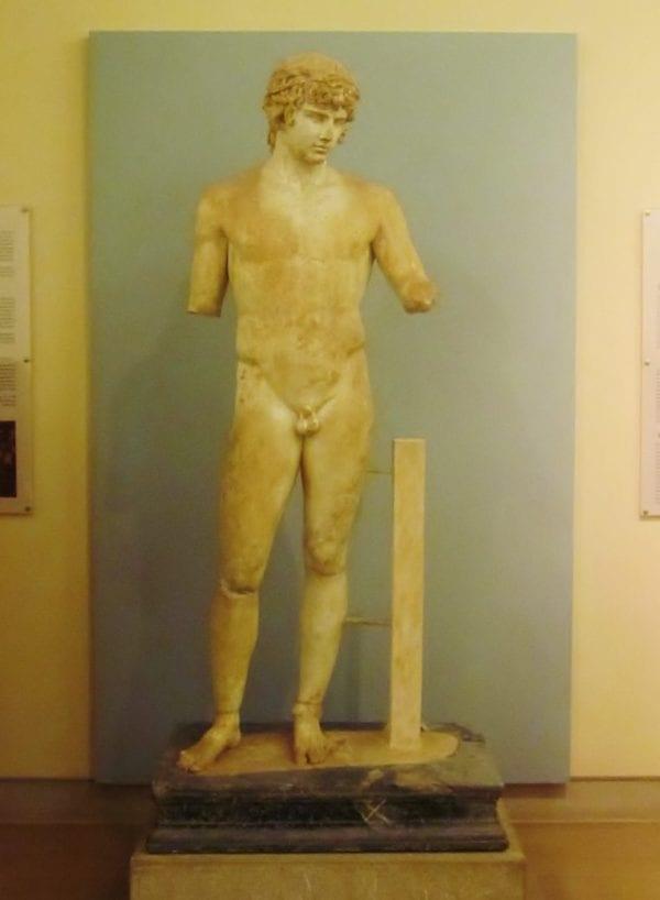 Statue of Antinous, Delphi