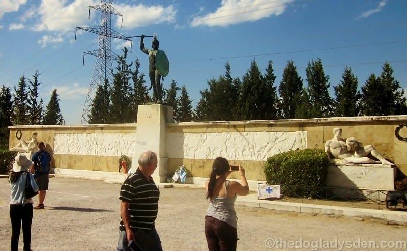 statue of Leonidis, Thermopylae | Meteora