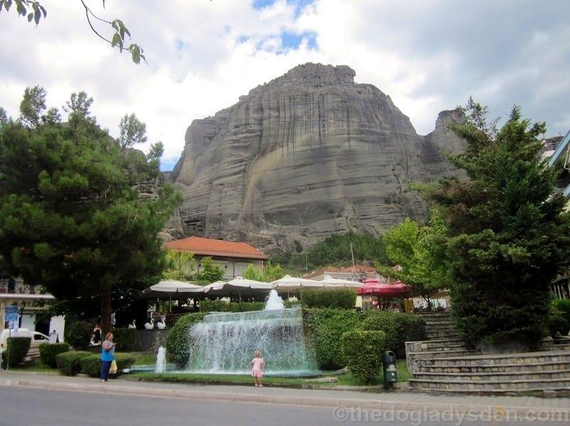 Town of Kalambaka, Meteora