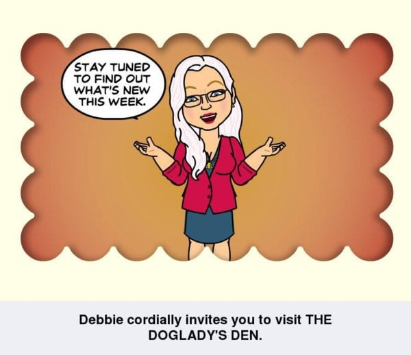 Stay tuned to what's new at The Doglady's Den - Bitstrips cartoon