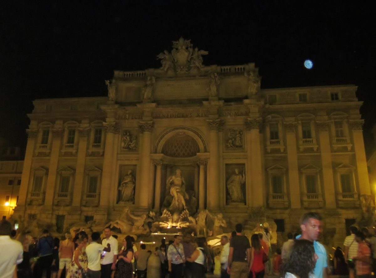 End of Day - Fountain of Trevi