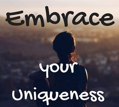embrace your uniqueness - almost cut my hair