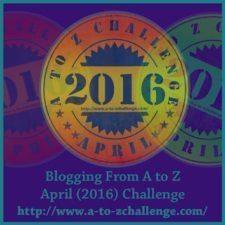 #AtoZChallenge 2016