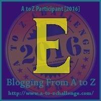Day 5, April 6. E is for English Bulldog