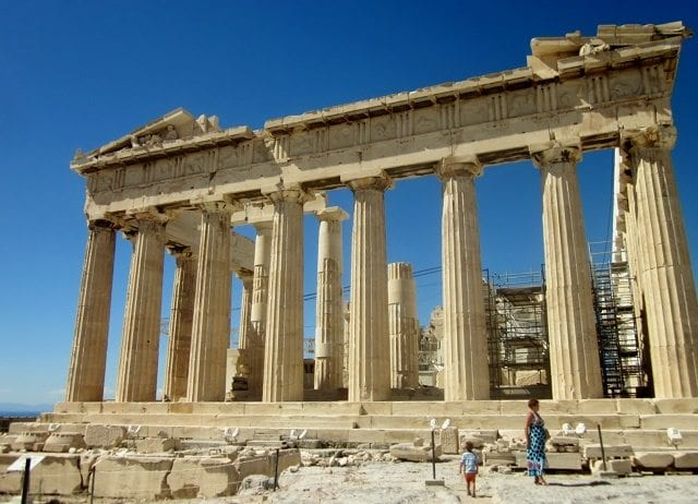 Civilization, Photo Friday. The Parthenon, Athens Greece