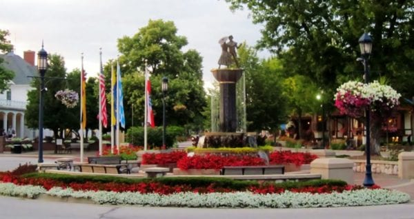 Frankenmuth Fountain SATURATION | PHOTO FRIDAY