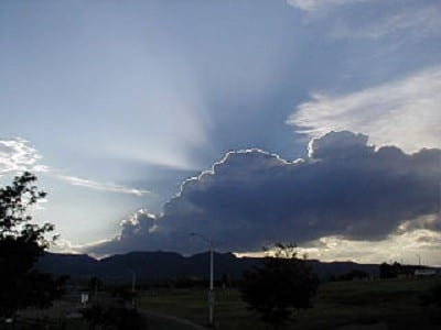 cloud with silver lining. The Power of Gratitude   #FlashbackFriday