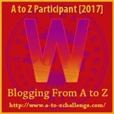 WHITE RABBIT | #AtoZChallenge